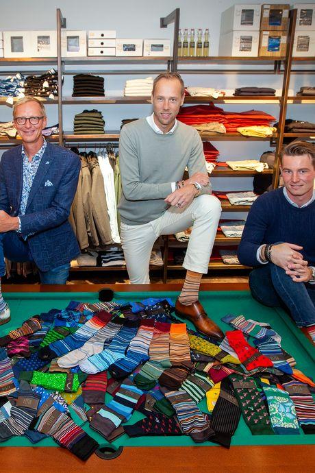 Meer dan 150 jaar klimaatverandering vertaald naar kleurrijke sokken: 'It's getting hot in here'