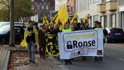 Taal Aktie Komitee en Ontgrendel Ronse gaan de straat op tegen taalfaciliteiten