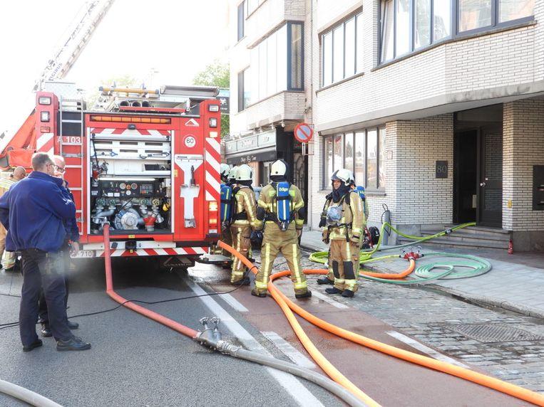 Brand Gistelse Steenweg Brugge
