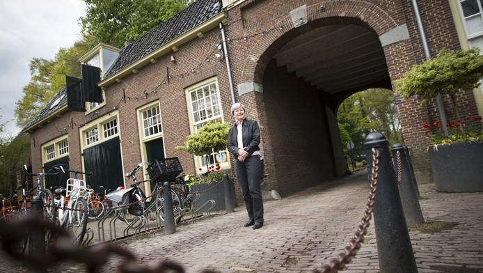 Stichtingsvoorzitter Janneke Schermers: 'Het is indrukwekkend. Zeker wanneer de klok begint te luiden.'