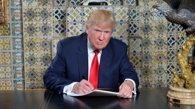Donald Trump Beeld
