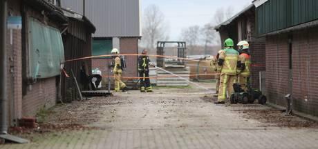 Asbest vrijgekomen bij schuurbrand in Vriezenveen
