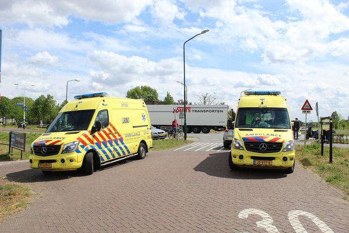 Het ongeval vond plaats op het kruispunt van de Kerkdijk-Zuid met de Lieshoutseweg.