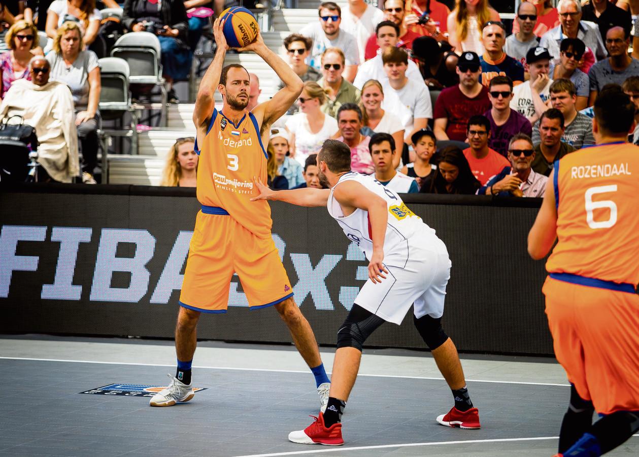 Jesper Jobse kwam met Oranje tekort tegen Servië.