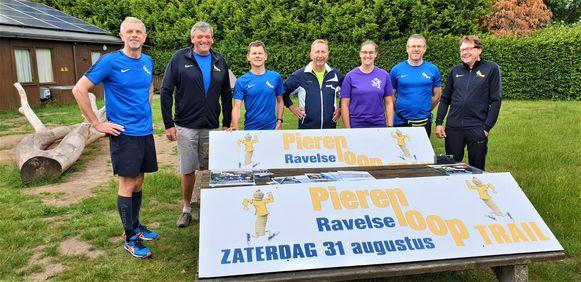 De organisatoren van de Ravelse Pierenloop