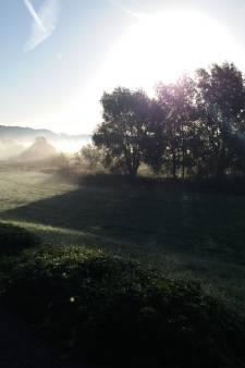 Zo kroop de ochtendnevel over Wijchen, Rhenen en Arnhem