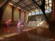 Danscentrum in Roosendaals station van de baan