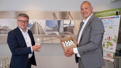"""Brouwerij schenkt 5.500 flesjes handgel aan Puurs-Sint-Amands: """"Gemaakt met alcohol uit eigen bieren en ciders"""""""