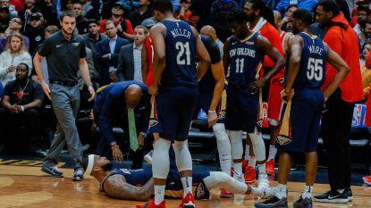 Zware blessure Cousins werpt schaduw over Pelicans-zege