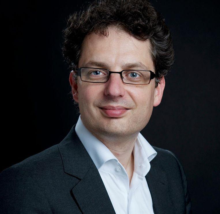 Antal van den Bosch, hoogleraar taal- en spraaktechnologie:'Het in stand houden van Fortran is vergelijkbaar met monniken die in de Middeleeuwen de klassieke talen cultiveerden.' Beeld RV - Milette Raats.