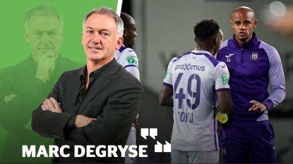"""Degryse: """"Deze match maakt duidelijk dat Kompany nog héél veel werk voor de boeg heeft"""""""