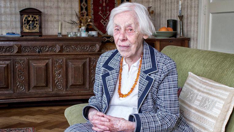 Hebe Kohlbrugge was verzetsstrijdster in de Tweede Wereldoorlog en theologe Beeld Jorgen Caris