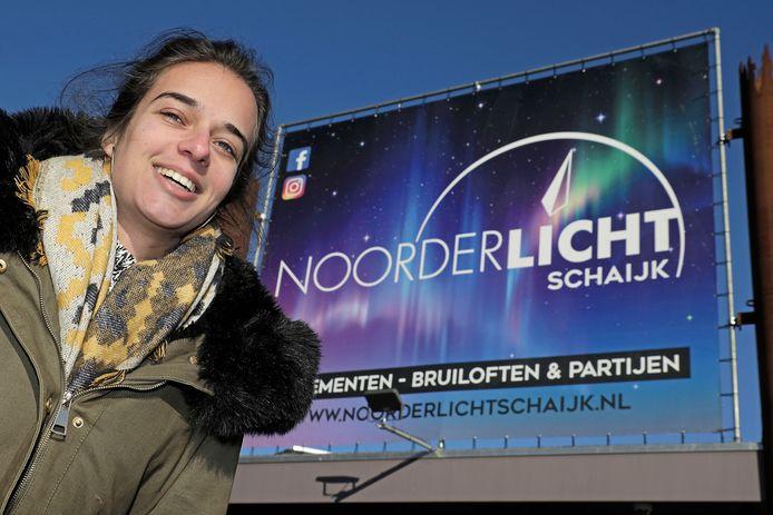 Sabrine Bek uit Vught blies eind 2016 de voormalige disco  in Schaijk nieuw leven in.