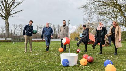 City Foot Golf gelanceerd in Berlare: spel neemt je mee langs zes mooie locaties aan Donkmeer