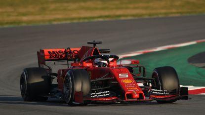 Sebastian Vettel snelste op eerste testdag, ook McLaren maakt goede beurt