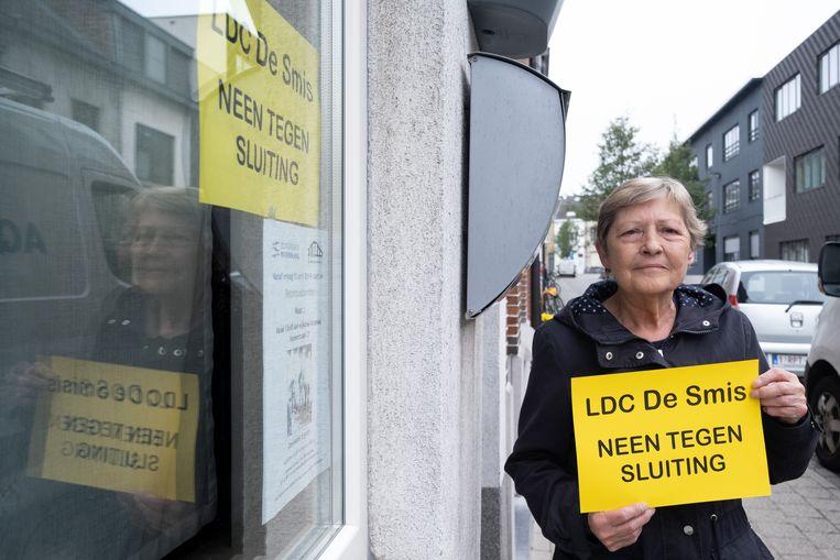 José Van der Wildt blijft proetesteren tegen de sluiting van De Smis.