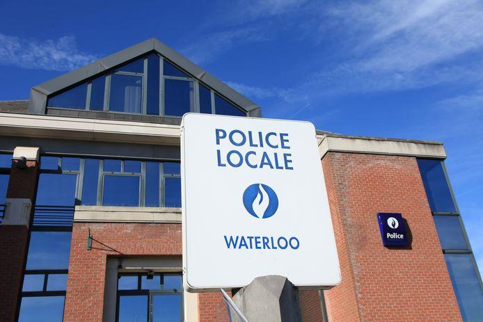 Le commissariat de police de Waterloo.