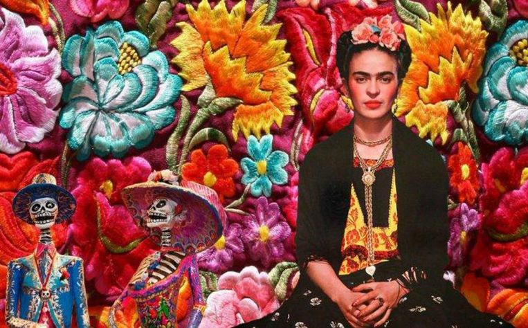 null Beeld Frida Kahlo ArtNight