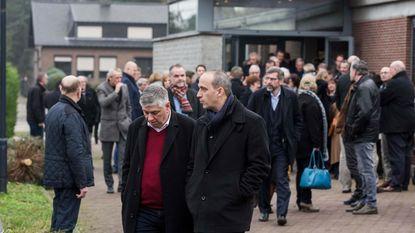 Familie van KRC Genk massaal aanwezig bij afscheid Louis Croonen