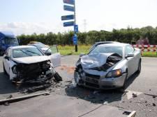 Gewonde en opstoppingen door ongeluk bij Kruiningen