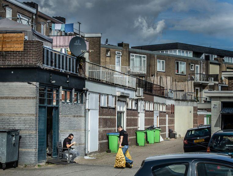 De wijk Presikhaaf in Arnhem, waar minstens één verdachte en de ouders van  Hardi N. wonen.  Beeld Koen Verheijden
