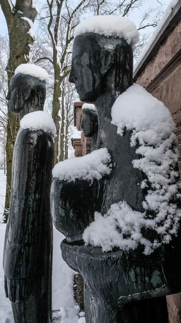 Duitse begraafplaats  Langemark-Poelkapelle.