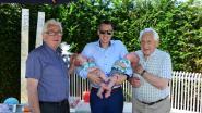 Familie Van Breusegem fier op dubbel viergeslacht