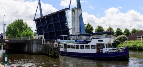 Koppelbrug vanmiddag één keer open voor scheepvaart