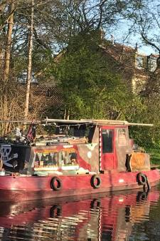 Piratenboot gespot in de Woerdense wateren