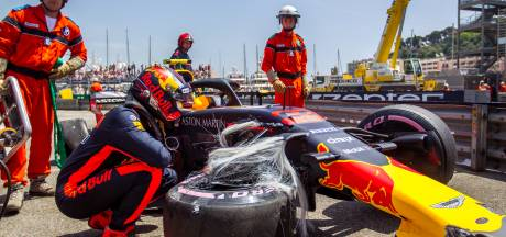 Max in Monaco, nog geen fijne match