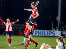 Vrouwen PSV winnen ook van concurrent Ajax