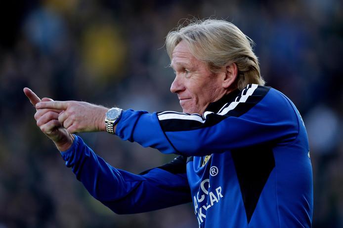 Eric van der Luer debuteerde als interim-coach bij Roda JC.