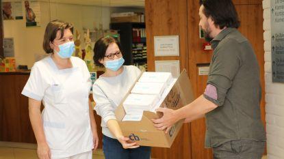 N-VA schenkt mondmaskers aan zorginstellingen