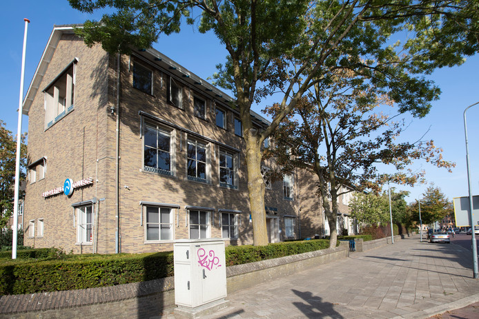Het Baudartius College aan de Isendoornstraat.