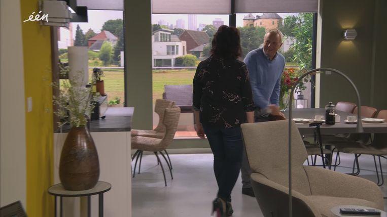 Rosa en Steven in Thuis