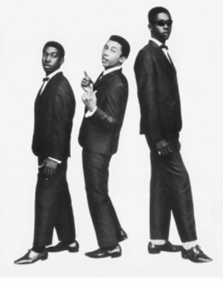 'Peter en Bunny vonden die hele star machinery achter Bob maar niks, daarom zijn ze ook gesplit.' De oorspronkelijke Wailers, met Bunny Wailer, Bob Marley en Peter Tosh. Beeld
