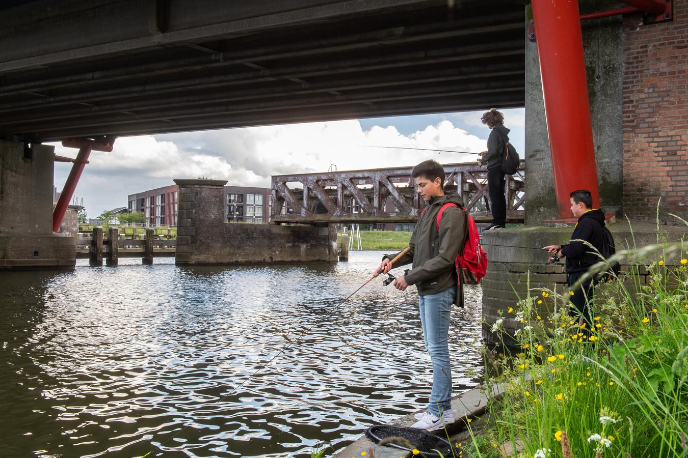 Jasper Reimus uit Geertruidenberg kent de goede visstekjes in zijn woonplaats op zijn duimpje.
