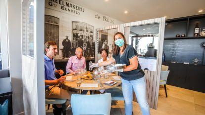 Zo ziet een coronaproof restaurant eruit: De Roos in Nieuwpoort is klaar om te openen