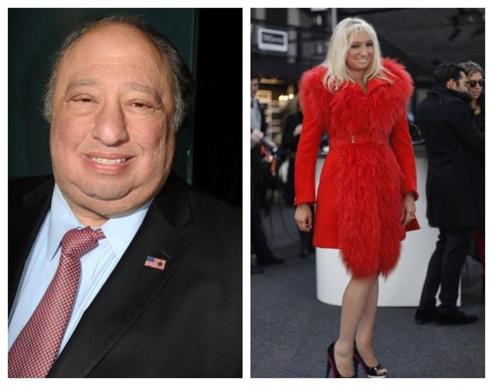 Le milliardaire John Catsimatidis et sa fille Andrea (photo datant de 2012).