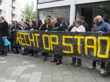 Actiegroep Niet Te Koop houdt 'open huis' in bezette sociale huurwoning