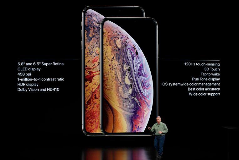 De iPhone Xs en de iPhone Xs Max.