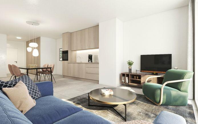 De ontwikkelaar voorziet ruime, lichtrijke appartementen.