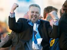 Voorzitter Jan Wilterdink van FCTrias krijgt lintje
