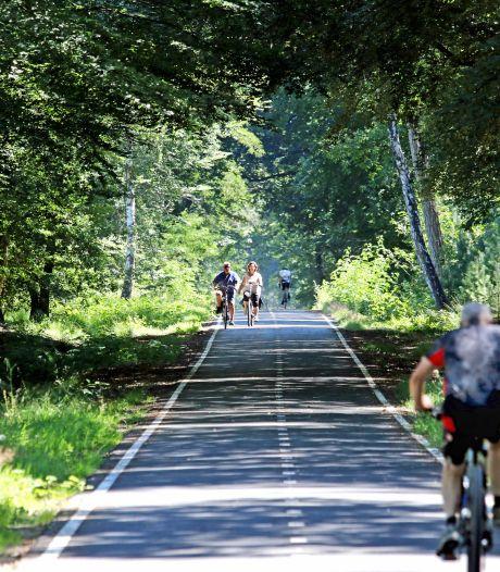 De Chaamse Bossen: een paradijs voor fietsers, maar niet meer voor wildkampeerders