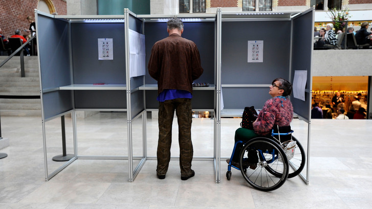 Ruim honderd klachten over toegankelijkheid stemmen