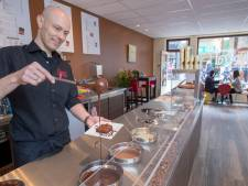 Van der Meijden tovert in Wageningen met chocolade in zijn chocoladebar