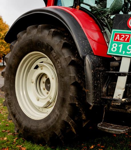 Boerenprotest op De Dam: maximaal 25 tractoren welkom
