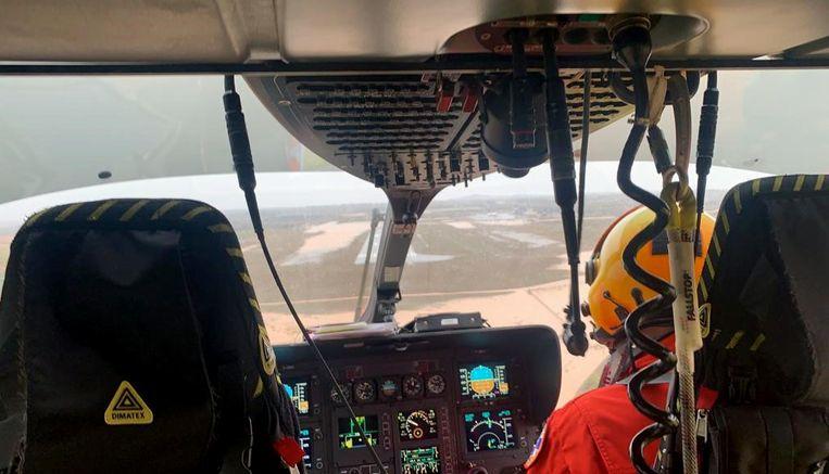 Gisteren raakte bekend dat zo'n duizend mensen moesten geëvacueerd worden, sommigen per helikopter.