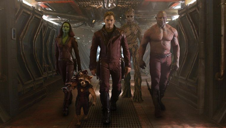 Guardians of the Galaxy Beeld