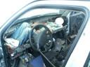 In 2007 probeerde een 25-jarige vluchteling het al met de gevaarlijke dashboard-tactiek.
